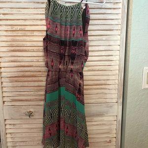 Lush colorful dress